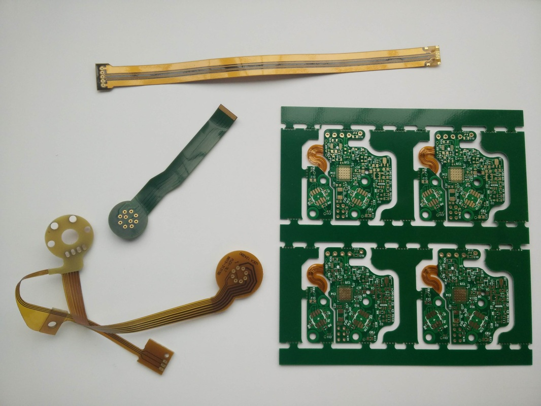 Rigid-flex PCB and Flexible PCB made by Storm Circuit