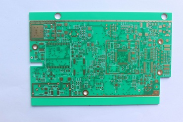 6 layer RF board,Rogers 4350B+FR4,Hybrid stackup